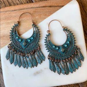 BOGO! Bohemian Ornate Semicircle Earrings